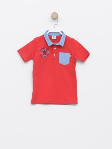 Majica sa kragnom kratak rukav