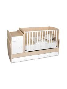 Krevetac za bebe 5u1 Bedesk