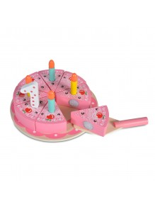 Drvena rodjendanska torta -...
