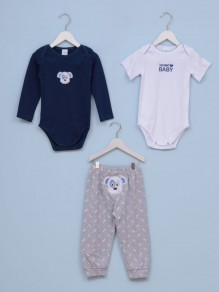 Set za bebe dečake KUCA