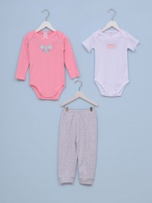 Set za bebe devojčice MIŠICA