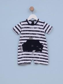 Štrampla za bebe dečake SHARK
