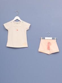 Komplet za bebe devojčice 3059